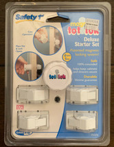 Safety 1st Tot Loks Deluxe Starter Set of 4 Locks 1 Key 71175 NEW 100% Concealed - $10.85