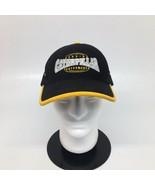 Caterpillar Cat Black & Yellow  Adjustable Strapback w/ Buckle Hat Cap - $18.69