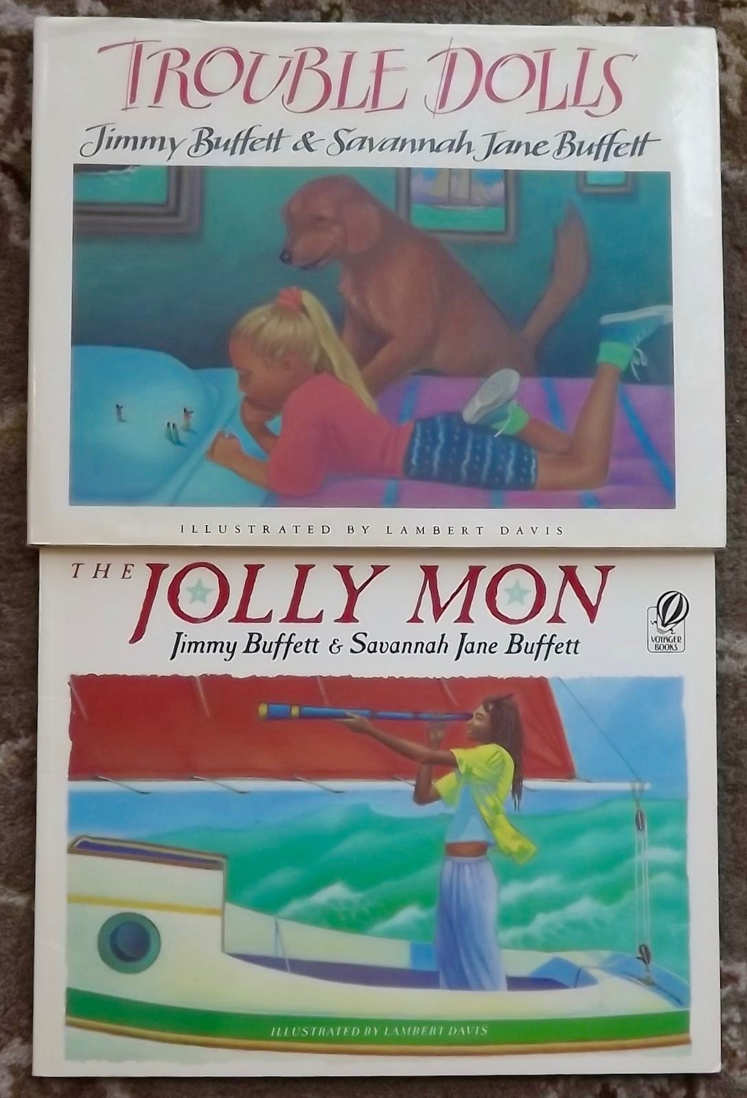 The Jolly Mon and Trouble Dolls by Jimmy and and 50 similar items