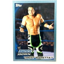 WWE Trent Baretta 2010 Topps Card #29 Blue Serial Numbered Parallel  - $1.93