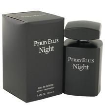Perry Ellis Night By Perry Ellis Eau De Toilette Spray 3.4 Oz For Men - $28.63