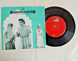 "1960's OLD 45 RPM ""MUGAL-E-AZAM MOVIE SONGS"" ANGEL RECORDINGS, GRAMOPHON... - $35.96"