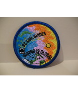 Global British Columbia Girl Guides Souvenir Badge Patch Cre - $4.99