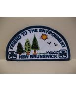 New Brunswick Girl Guides Souvenir Badge Patch Crest - $4.99