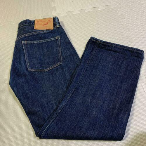 Primary image for orslow Denim Pants Women's Size 2 Blue Straight Type Genuine From Japan USED