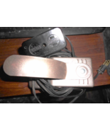 Mercury Electric Knee Lever #705 Wired To Duplex (Light/Motor) & Male Pl... - $12.50