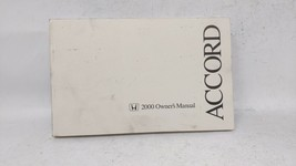 2000 Honda Accord Owners Manual 69014 - $23.24