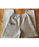 Vintage High School Champion Brand Heather Gray Sweatpants Large Mint - $28.49