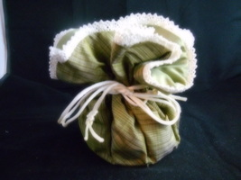 OLIVE GREEN JEWELRY POUCH - $22.00+