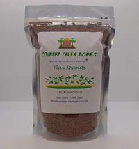Flax Seed, Sprouting Seeds, Microgreen, Sprouting, 8 OZ, Non GMO - Country Creek - $8.49
