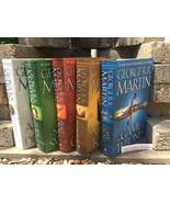 Song of Ice and Fire Game of Thrones Hardcover Set George R. R. Martin S... - $135.00