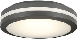 Outdoor Ceiling Flushmount LED Lighting 1029-Lumens Weather Resistant Br... - $1.576,78 MXN