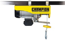 Electric Hoist Engine Lifting Dual-Line 120-Volt Pully Hook Remote Control - $179.81