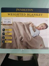 """Pendleton Glass Beads Weighted Blanket 48""""x72"""" Anxiety Stress Relief 15l... - $59.03"""