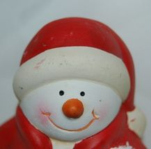 Generic Snowman Shelf Sitter Kid Style Holding Snowball 4 Inches 2 Set image 5