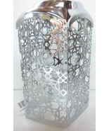 Bath & Body Works Gentle Foaming Hand Soap Sleeve Holder Silver Squares ... - $23.99