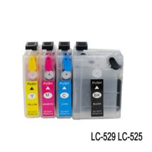 Compatible 4Pcs  Refillable Cartridge suit for LC525 LC529 - $26.16