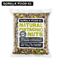 Gorilla Food Co. California Pistachios Shelled Nutmeats Kernels Raw Unsa... - $16.82