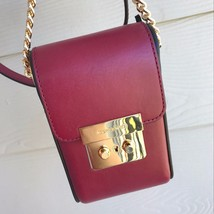 NEW Michael Kors Scout Collection Crossbody iPhone 6 Cherry NWT - $178.19