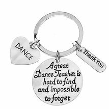 Dance Teacher Gift, Dance Teacher Keychain Dance Jewelry for Dance Instr... - $9.99
