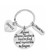 Dance Teacher Gift, Dance Teacher Keychain Dance Jewelry for Dance Instr... - $9.99