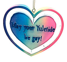 May Your Yuletide be gay!  Christmas Ornament By Kurt Adler - $10.93