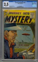 JOURNEY INTO MYSTERY #25 CGC 2.5 ATLAS PRE HERO MARVEL FLYING SAUCER COVER - $483.74