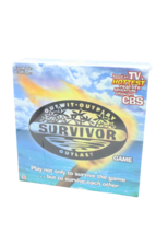 New Sealed 2000 First Edition Survivor Board Game 4-8 Players Cbs Free Ship - $39.89