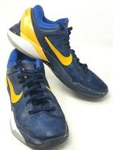Nike Zoom Kobe System VII (7) Size 7 Blue Yellow - $59.35