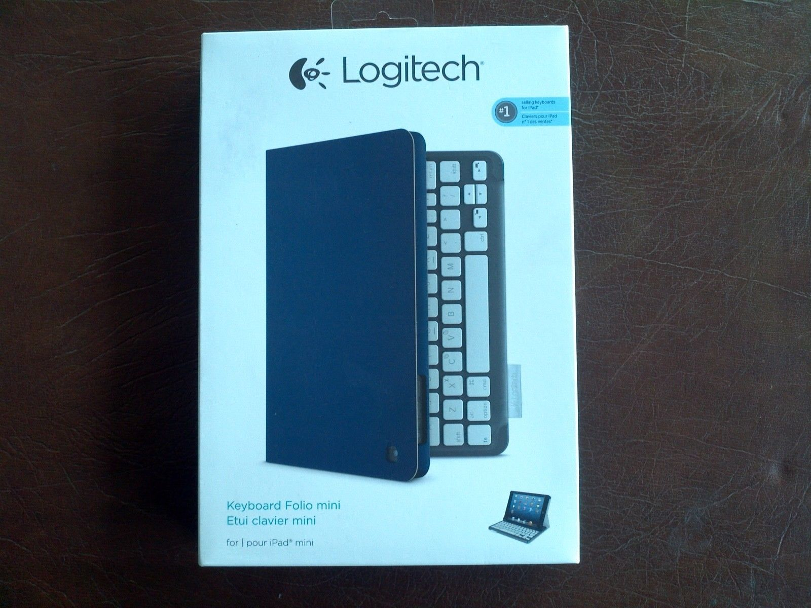 Matte Purple Logitech Folio Protective Case for iPad mini
