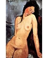 Modigliani - Nude female - 40x50 inch Canvas Wall Art Home Decor - $159.00
