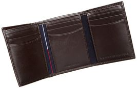 Tommy Hilfiger Men's Premium Leather Credit Card ID Wallet Trifold 31TL11X033 image 13
