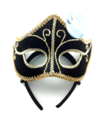 MASQUERADE BALL MASK FETISH PLAY CARNIVAL MARDI GRAS ROLE-PLAY PROM - $37.99
