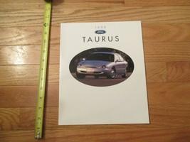 Ford Taurus 1996 Dealer car Sales Brochure - $8.99