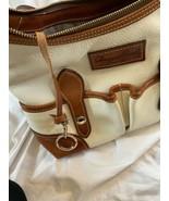 Dooney & Bourke handbag VINTAGE  White And Brown - $99.00