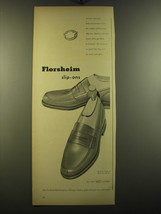 1950 Florsheim Slip-Ons Shoes Advertisement - The Briar - $14.99