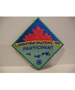 Mosaic Participant Girl Guides Souvenir Badge Patch Crest - $4.99