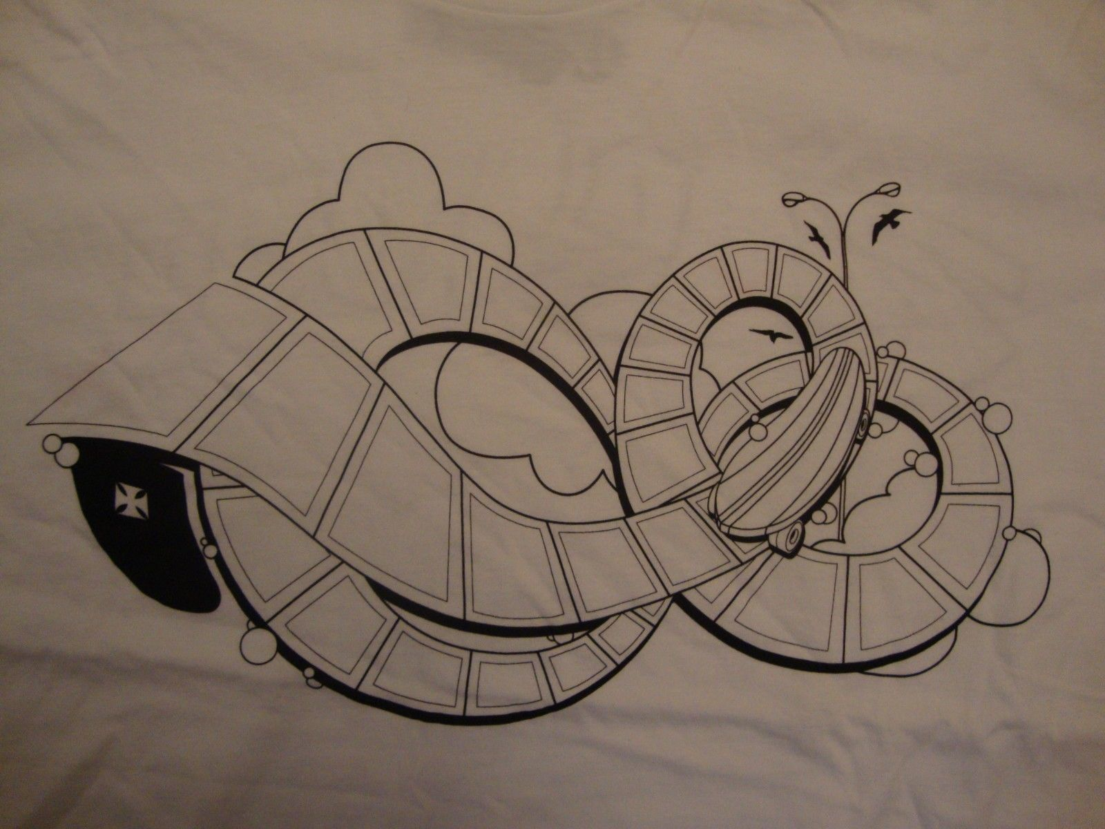 Primary image for EZR apparel white t shirt size XL