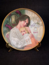 """EDWIN M. KNOWLES Collectible Plate Mother's Here Porcelain William Chambers 8"""" - $13.85"""