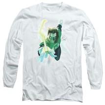 DC Comics Green Lantern superhero Retro long sleeve adult graphic t-shirt GL389 image 1