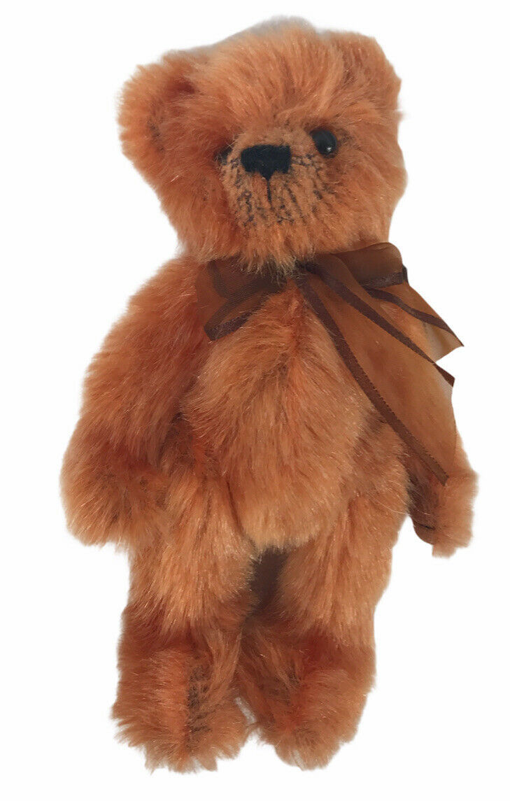 Ty Attic Treasures CLAY the Bear Retired Jointed Poseable 1993 - $13.60
