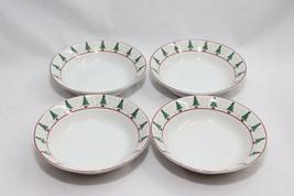 """Sakura Magic of Santa Soup Bowls 7.5"""" Set of 4 - $28.91"""