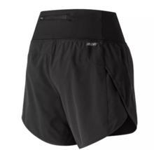 "New Balance Impact 5"" Sz L Large Women's Zippered Pocket Running Shorts WS81264"
