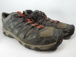 Keen Oakridge Size US 12 M (D) EU 46 Men's Trail Hiking Shoes Raven Gray 1015319 - $34.10