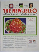 1933 Ad The NEW JELLO No Boiling Water Print Advertising - $7.95
