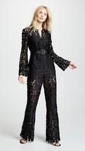 2018 Auth New Self-Portrait lace jumpsuit in black $485 - $156.00