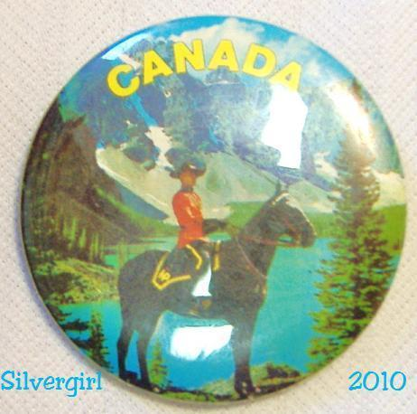 Primary image for Canada Royal Mounted Police Centennial 1967 Pinback