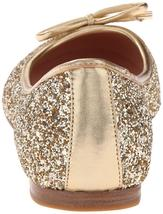 New Kate Spade New York Women's Willa Ballet Loafer Flats Shoes Gold Glitter image 7