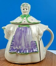 Vintage Shawnee Pottery Granny Ann Teapot Hand-Painted Made in USA - $39.35