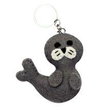Felt Seal Key Chain - $15.00